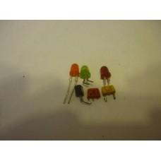 КТ 315 , светодиоды, транзисторы пласт.